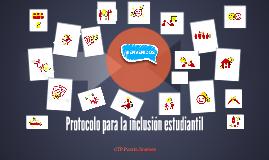 Protocolo para la inclusión estudiantil