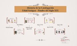 Historia de la Catalogación