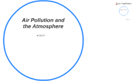 Air Pollution and the Atmosphere