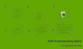 4.09 Understanding Satire