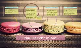 Copy of Koukuta kielen keinoin / Kolumnityöpaja bloggaajille (Biogen Idec)