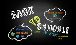 8th Grade! Back to School!