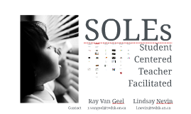 Self Organized Learning Environments