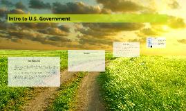 Intro to U.S. Government
