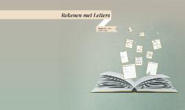 Rekenen met Letters H1K2