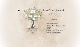 Copy of Lean Managment