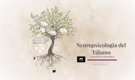 NE Neuropsicologia del Tálamo