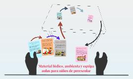 Material lúdico, ambienta y equipa aulas para niños de prees