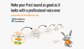 Get pro voice over for your Prezi