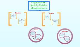 Organización Social y Política Mesopotamica