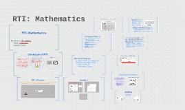 RTI: Mathematics