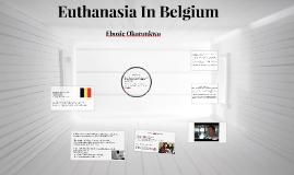 Euthanasia In Belgium