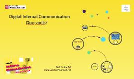 Internal Communication & Storytelling
