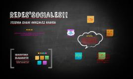 REDES'SOCIALES!!
