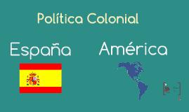 Politica colonial
