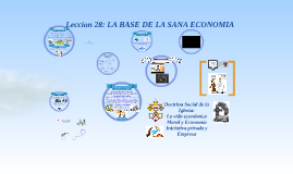 Copy of Doctrina Social de la Iglesia: