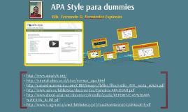 Copy of Formato APA para dummies