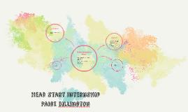 Head start internship