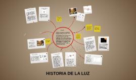 HISTORIA DE LA LUZ