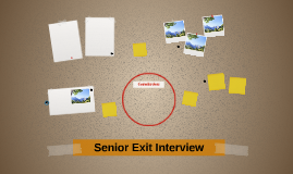 Senior Exit Interview
