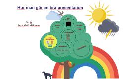 Hur man gör en bra presentation