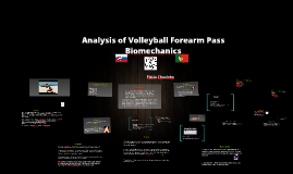 Copy of The Biomechanics of forearm passing a volleyball