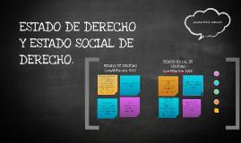 Copy of ESTADO DE DERECHO Y ESTADO SOCIAL DE DERECHO.