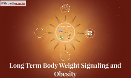 Body Weight Signaling and Obesity
