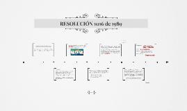RESOLUCION 1016/89