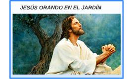 JESÚS ORANDO EN EL JARDÍN