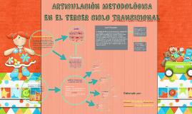 ARTICULACIÓN METODOLÓGICA EN EL TERCER CICLO TRANSICIONAL
