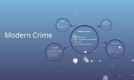 Modern Crime