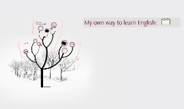 Copy of My own way to learn English: