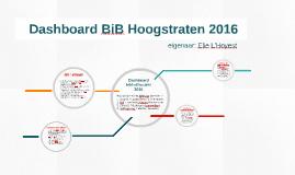 Dashboard BiB Hoogstraten 2016 Elie L'Hoyest
