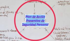 Plan de Acción Preventiva de Seguridad Personal