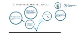 modelo ruta-meta de liderazgo