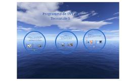 Programme de SVT en Terminale S
