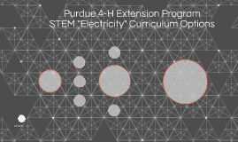 "Purdue 4-H Extension STEM ""Electricity"" Curriculum Options"