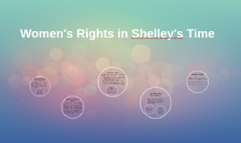Women's Rights in Shelley's Time