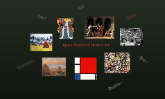 Quick History of Modern Art