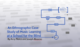 An Ethnographic Case Study of Music Learning at a School fo