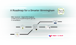 A Roadmap for a Smarter Birmingham