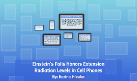 Einstein's Falls Honors Extension