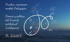 San José La evaluaciòn y el cociente Intelectual