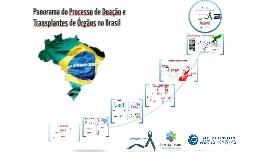 Evento PUC-Goiás - Panorama do processo de doação e tx no Brasil - Estratégias de cuidados para o potencial doador