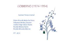 Gobierno Colombia (1974-1994 )