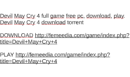 Devil May Cry 4 full game free pc, download, play. Devil May