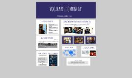 Copy of VOGLIA DI COMUNITA'