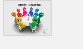 Stakeholders - Tia Maria