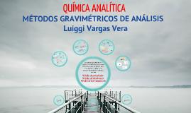 Copy of Métodos gravimétricos de análisis
